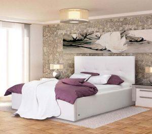 Łóżko VIENA WHITE